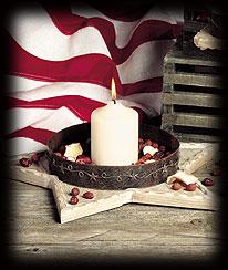 Washington's Dream Candle Holder Boyds Bear