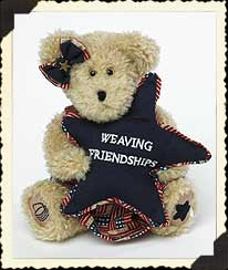 Weaver Girl Boyds Bear