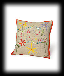 Welcome Friends Pillow Boyds Bear