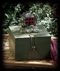 Welcome Home Accent Box Boyds Bear