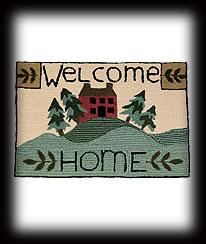 Welcome Home Rug Boyds Bear