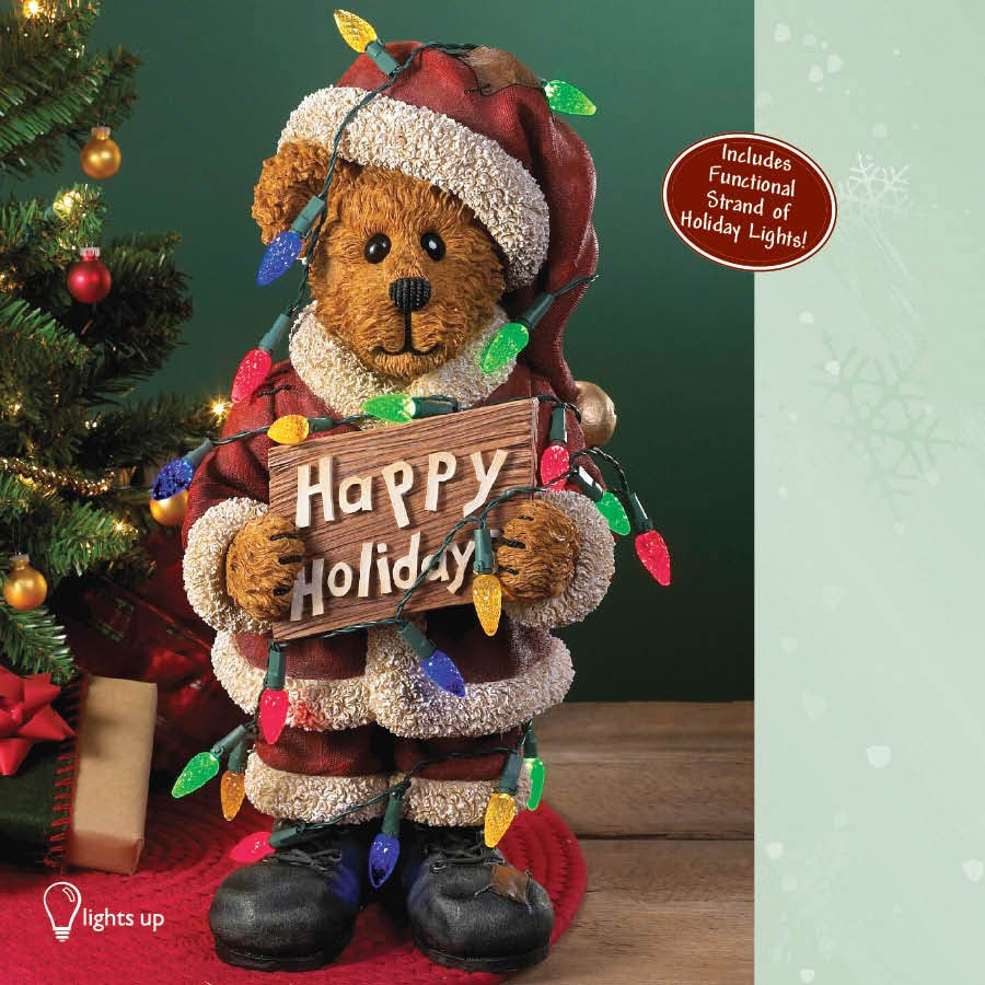 Resin - 2010 Winter Boyds Bears