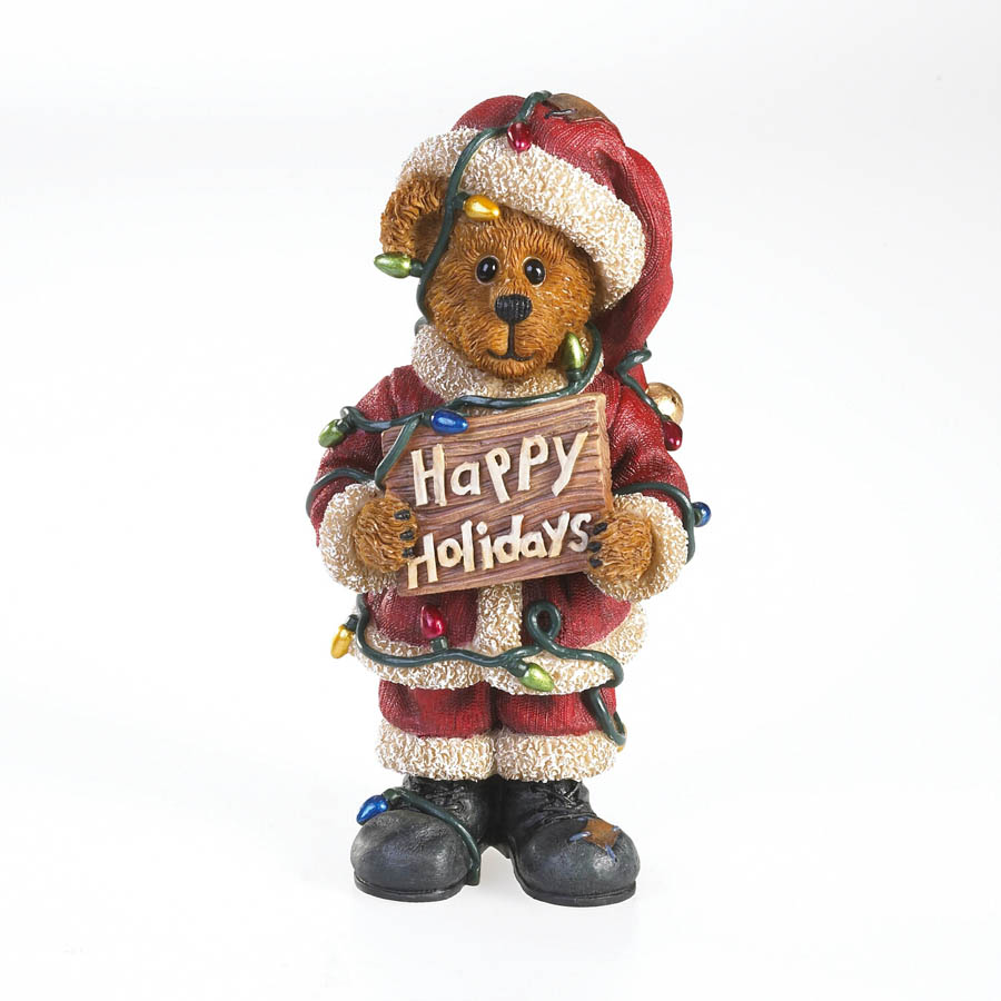 Wensel Tangleton... Making Spirits Bright Boyds Bear