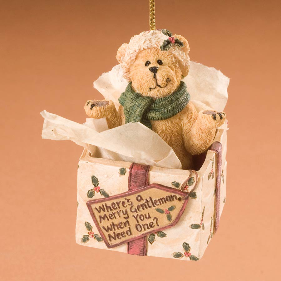 Where's A Merry Gentleman When You Need One? Boyds Bear