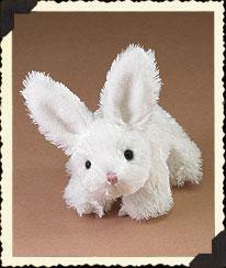 White Lil' Hop Bunny Boyds Bear