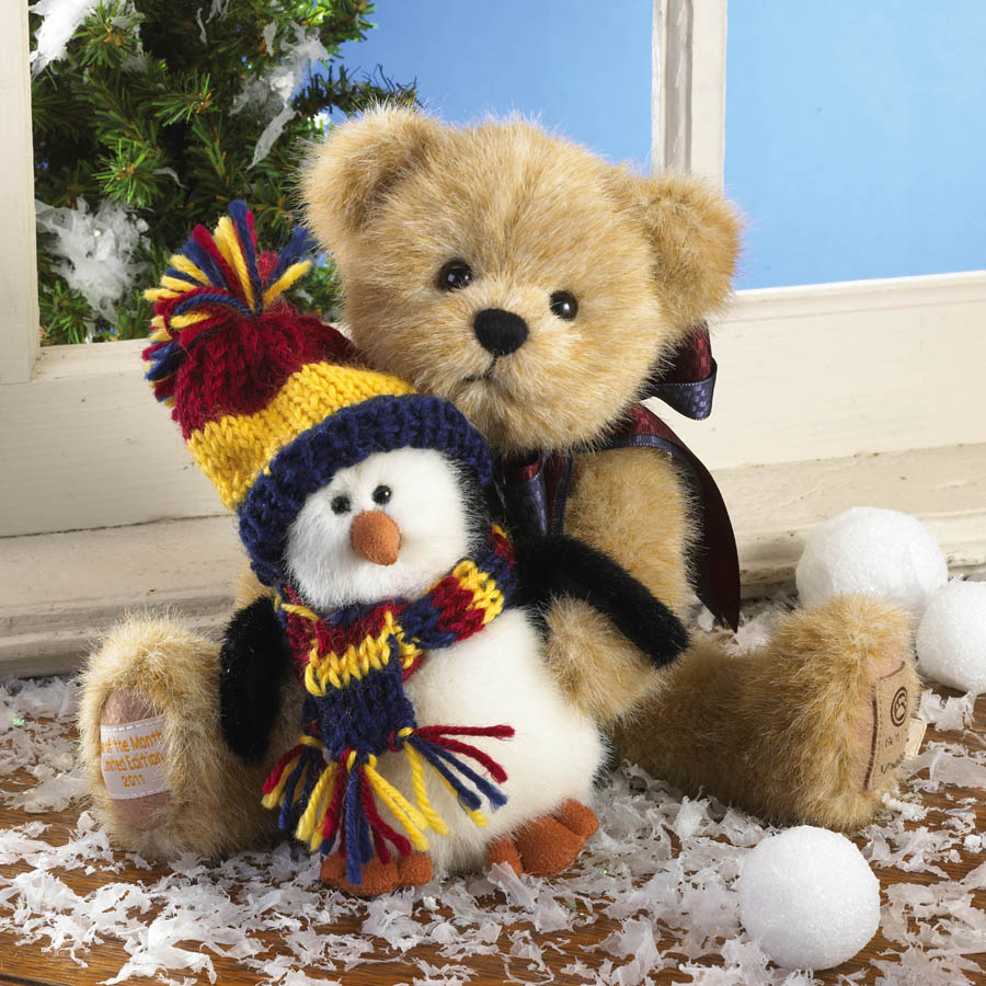 Willy With Chilly... Frosty Friends Boyds Bear
