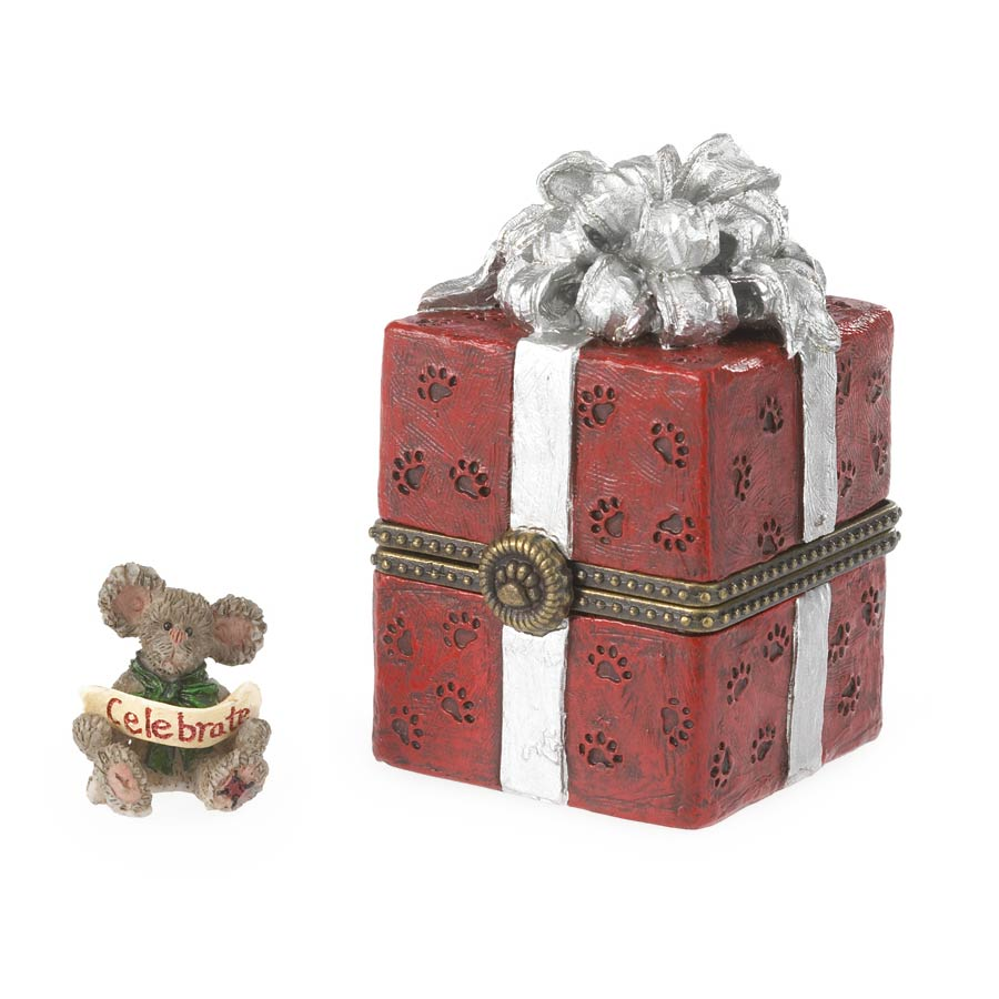 Winston's Gift Box With Joy Mcnibble Boyds Bear