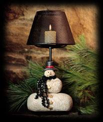 Winter's Night Votive Lamp Boyds Bear