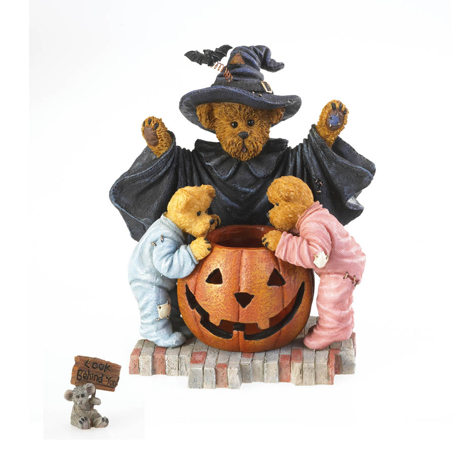 Witchella With Peek, Boo And Nibbley...  I'm Gonna Get Ya! Boyds Bear
