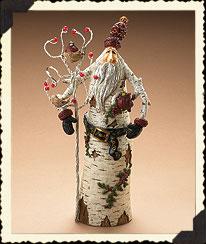 Woodland Santa Claus W/cardinals Boyds Bear