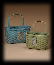Woodland Wall Baskets Boyds Bear