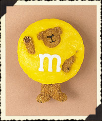 Yellow M&m's® Pin Boyds Bear