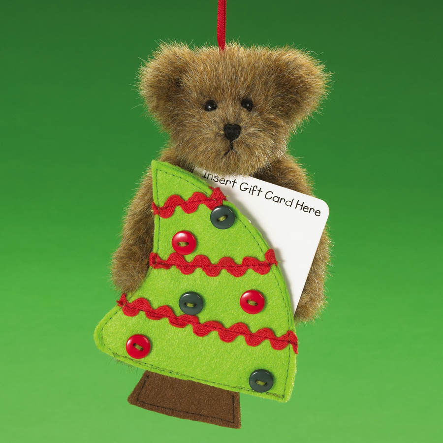 Yuletide Greetings Boyds Bear