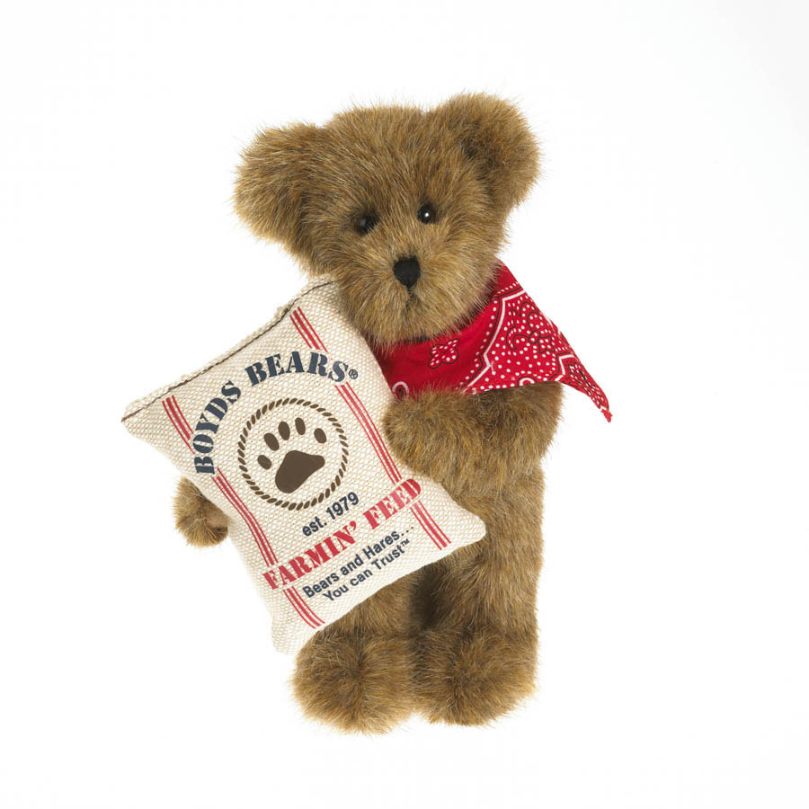 Zachariah Barnster Boyds Bear